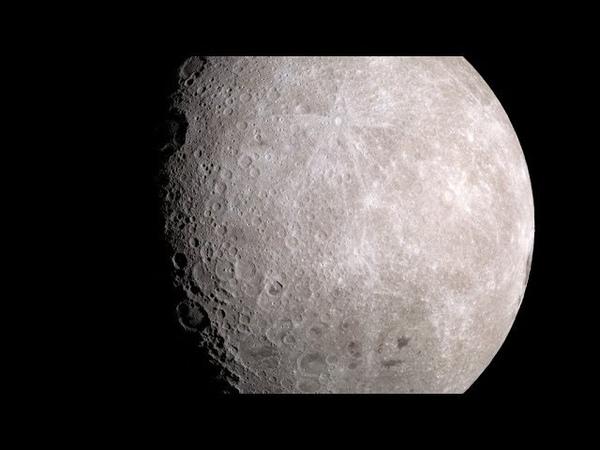 Clair de Lune 4K Version Moon Images from NASA's Lunar Reconnaissance Orbiter