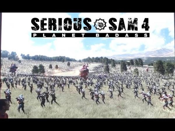 Serious Sam 4 Planet Badass - Reboot Develop Blue 2019 PART 2