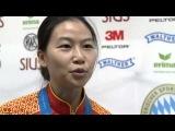 10m Air Rifle Women Interview - ISSF Rifle&Pistol World Cup Final 2013, Munich (GER)