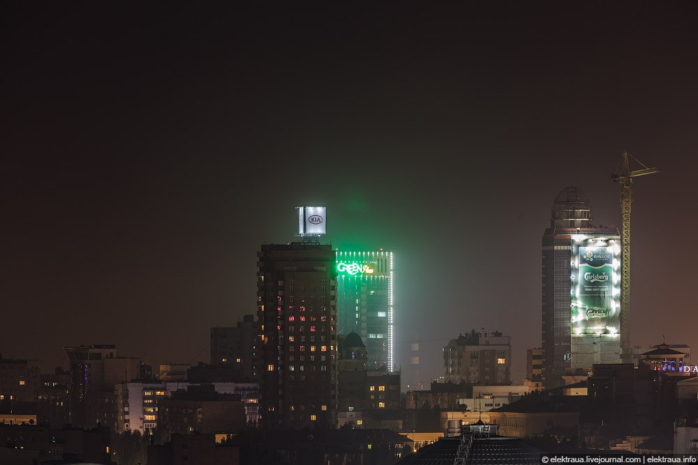 Ночной Донецк