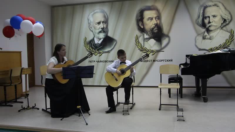 Серёга, 9 лет, с Жанной Владимировной