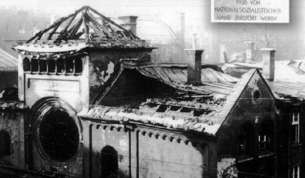 «Хрустальная ночь» в нацистской Германии
