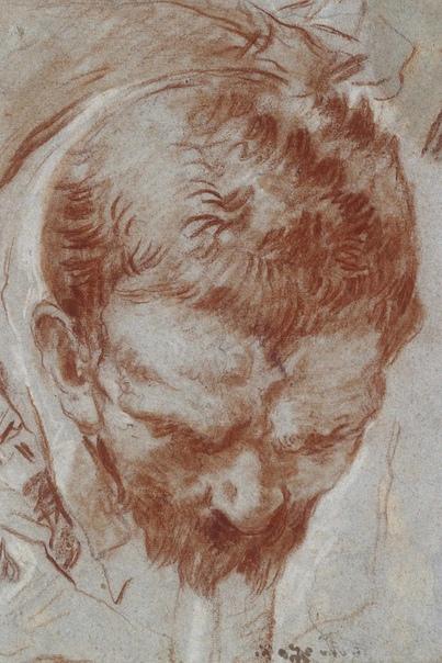 Из набросков Джованни Баттиста Тьеполо, Giovanni Battista Tiepolo (5 марта 1696  1770)