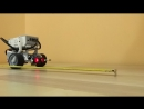 Робототехника в Некрасовке. Робототехника в Некрасовке. Робот сигнализирует о появлении препятствия на удалении до 30 см.