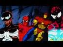 Человек паук Железный человек и Веном против Карнажа Мордо и Дормамму 1994 Мультсериал