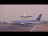 Boeing 767-300 UTair ушёл на второй круг в аэропорту Барселоны (BCN/LEBL)