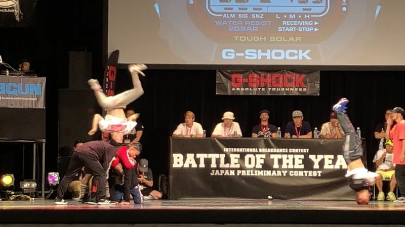 Found Nation vs Mortal combat FINAL 【 battle of the year 2018 japan 】 BOTY