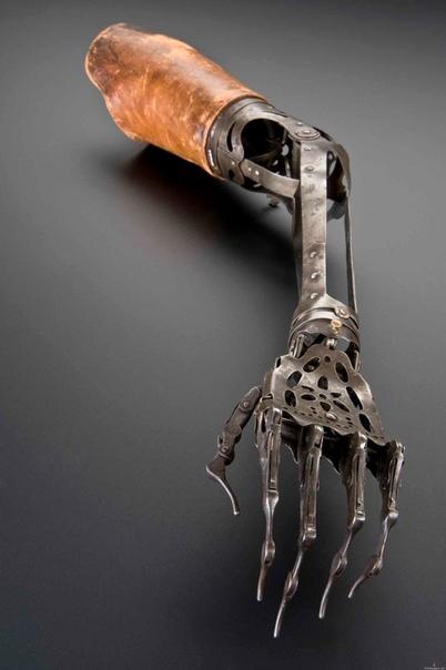 Протез руки викторианской эпохи, 1850-1910 годы
