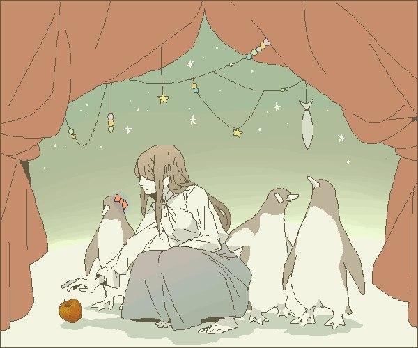 картинки аниме в постели: