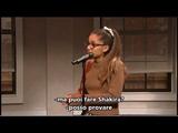 Ariana Grande imita Britney, Rihanna, Shakira..e altri! (sub ita)