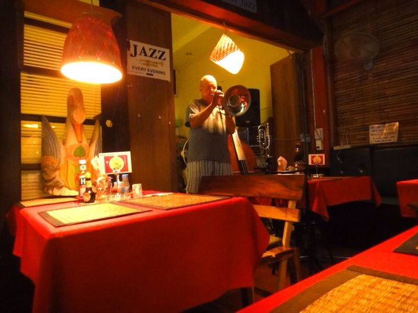 Джаз в отеле Fat Cat Хуа-Хин