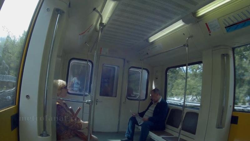 Вся Филёвская линия метро. Участок Александровский сад - Кунцевская