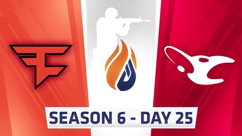 ECS Season 6 Day 25 Faze vs Mousesports - Dust2