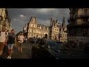 Post-victory bike ride through Paris