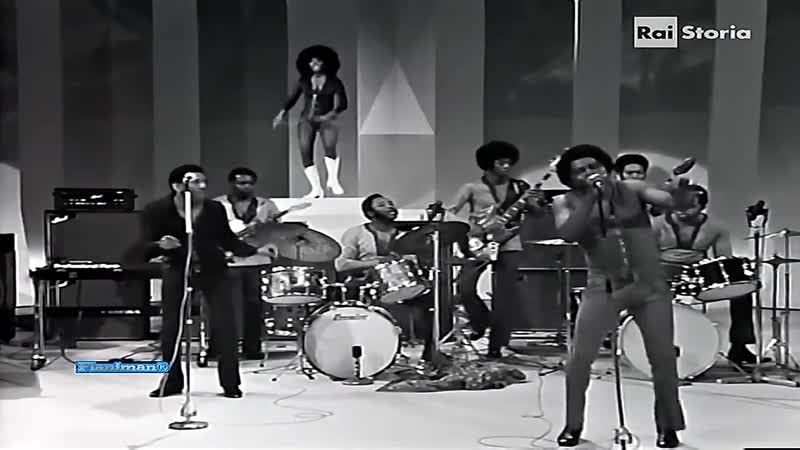 James Brown - Get up I (feel like being like) a sex machine (live at Italian TV Show, 1971)