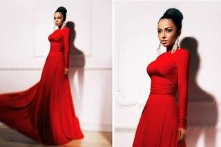 красивые платья длинные в пол фото