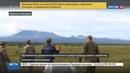 Новости на Россия 24 • На Камчатке выпустили на волю спасенных от браконьеров кречетов