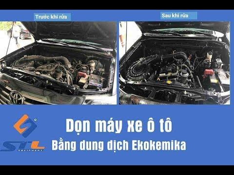 Rửa Khoang Máy Động Cơ Bằng Dung Dịch Ekokemika