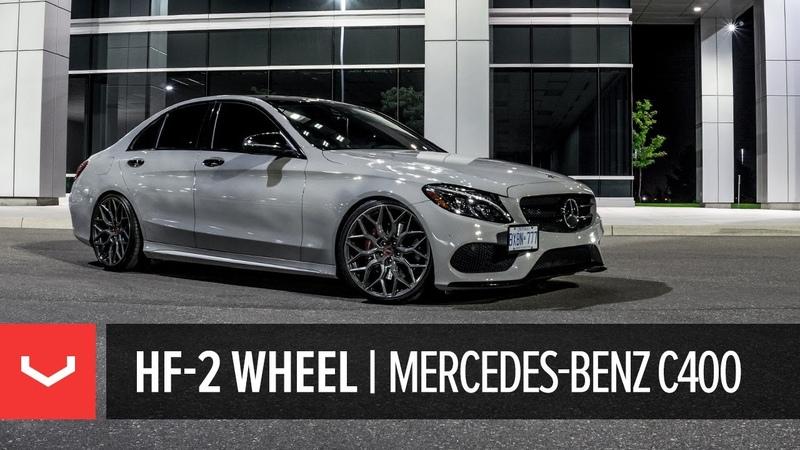 Vossen Hybrid Forged HF-2 Wheel | Mercedes-Benz C400