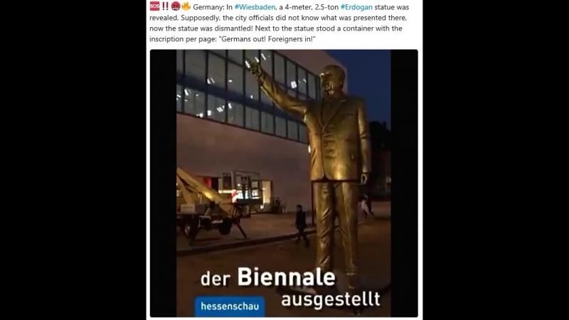 Erdogan Wiesbaden; weg mit dem Dreck