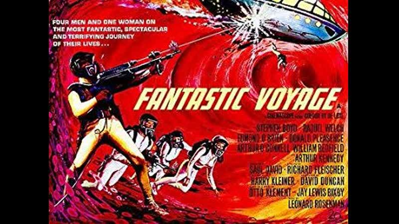 Fantastic Voyage (1966) Stephen Boyd, Raquel Welch, Edmond O'Brien