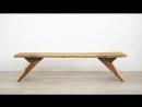DIY Bench with Custom Steel Hardware Metal Working for Beginners