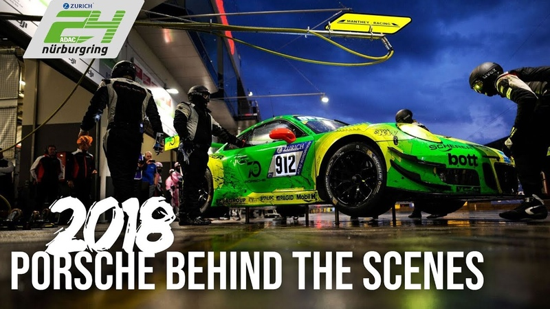 Behind the scenes of Porsches dramatic 24h Nürburgring 2018 win!