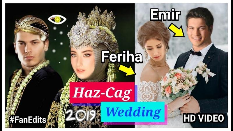 Çağatay Ulusoy hazal kaya cute photos ❤🤗 Feriha Emir (Wedding Fan-Edits)