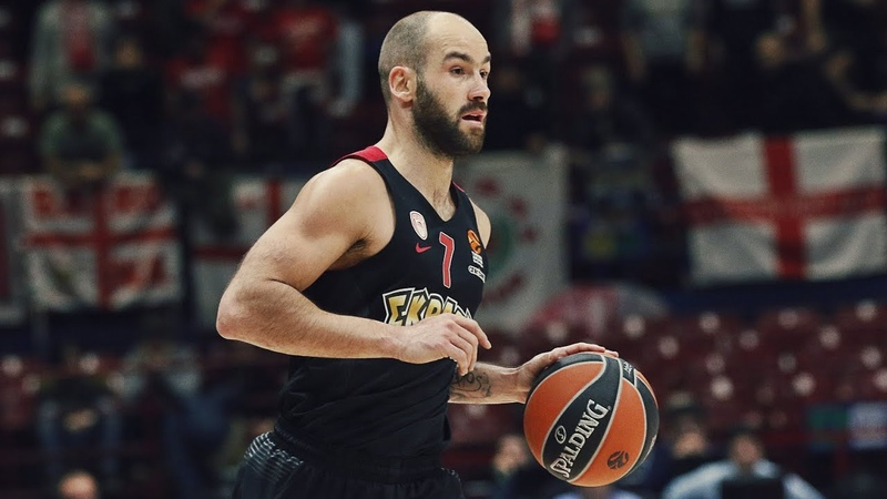 Vassilis Spanoulis Highlights ᴴᴰ Red Legend