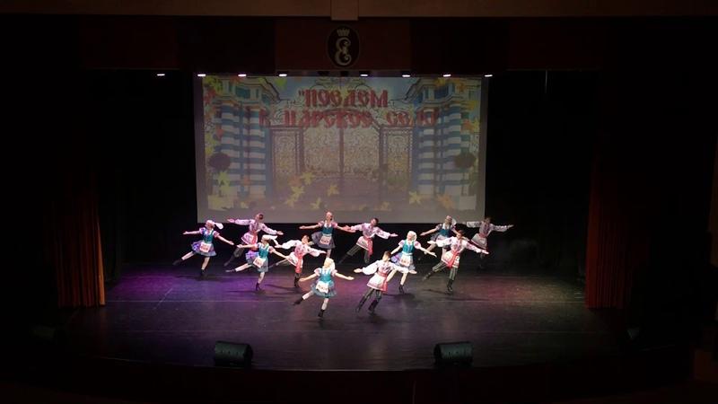 Белорусский народно-сценический танец «Витебская полька». Образцовый ансамбль танца «Папараць кветка»