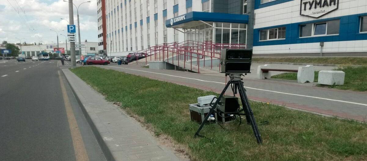 Планируемые места установки датчиков контроля скорости 12 июля 2018 года