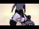 Combat hockey LNAH Joel Theriault VS Gaby Roch 08 03 2014