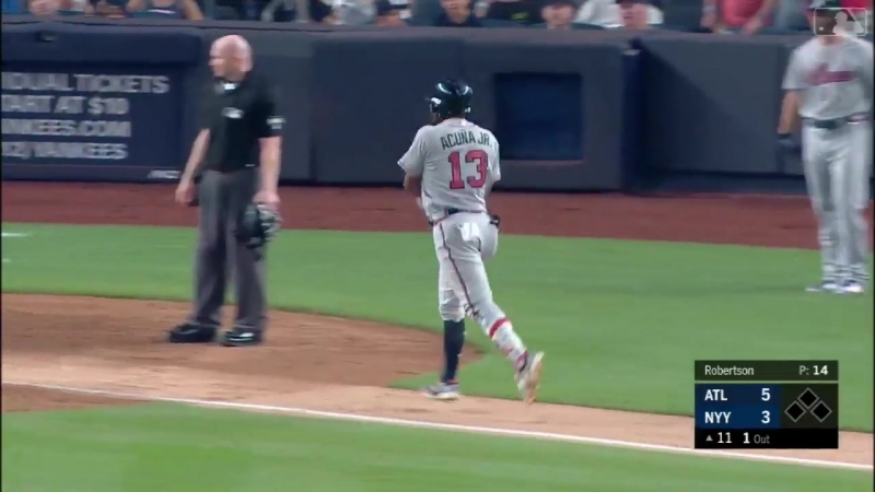 20 years old and Ronald Acuña Jr already has the clutch gene How about a game winni