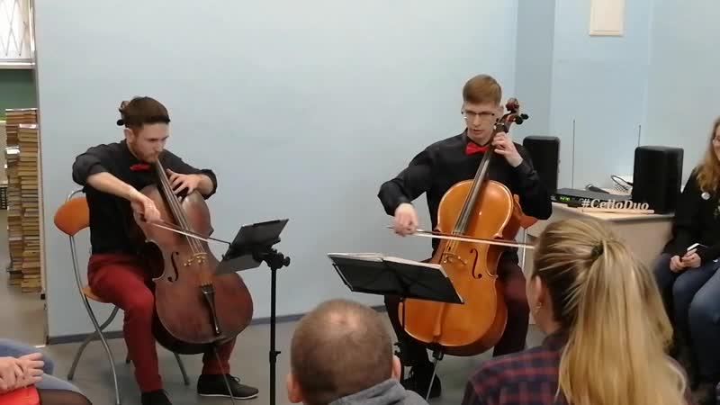 Cello Duo - Eye of the Tiger