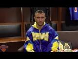 Ломаченко - Линарес. Через 30 минут после боя.Первые слова победителя.