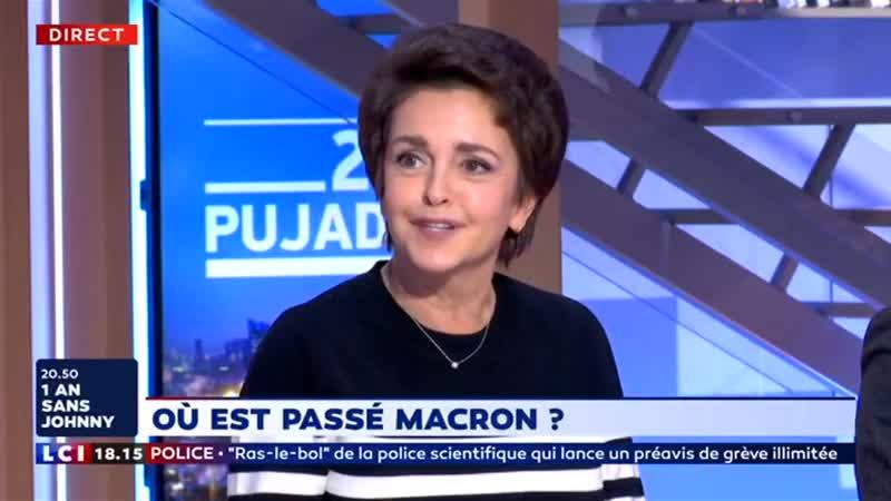 Macron - Il se cache peut-être simplement pour des raisons de sécurité