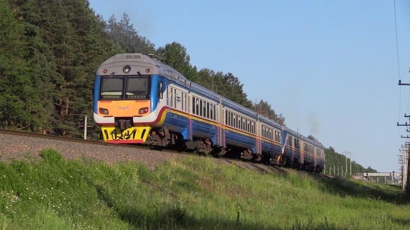 Дизель-поезда ДР1Б-513514 / DR1B-513514 DMU's