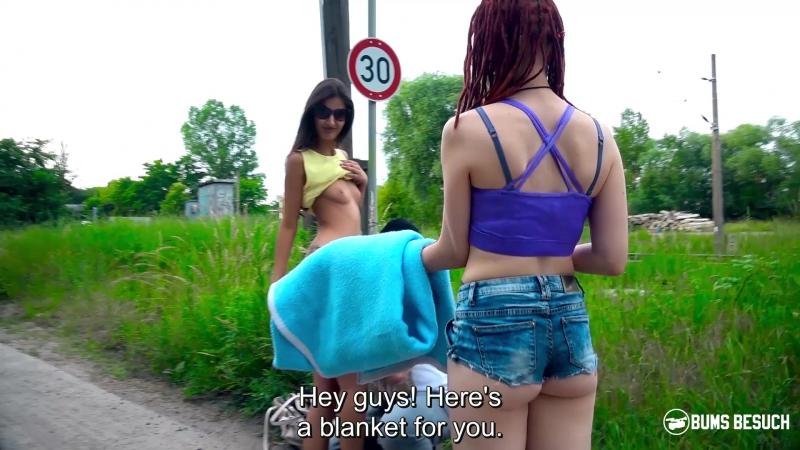 Skinny German pornstar Coco Kiss gets fucked by newbie fan boy
