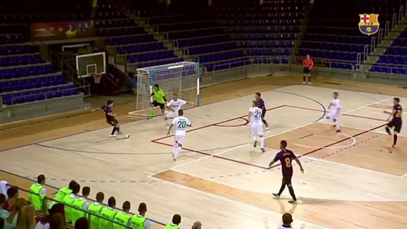 HightLight Pre-Season 201819 Barcelona Lassa vs Futsal Rekord = 11 - 0 7 - 1. ( Adele - Hello ).