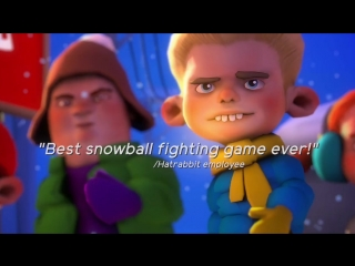 Merry Snowballs VR - 2017 Edition (Official Game Trailer)