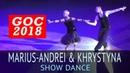 Marius-Andrei Balan Khrystyna Moshenska | Шоу 1 | 2018 Открытый Чемпионат Германии (GOC 2018)