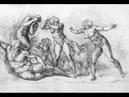 Michelangelo's sketches рисунки Микела́нджело