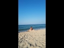 Девочки и ход. Море.