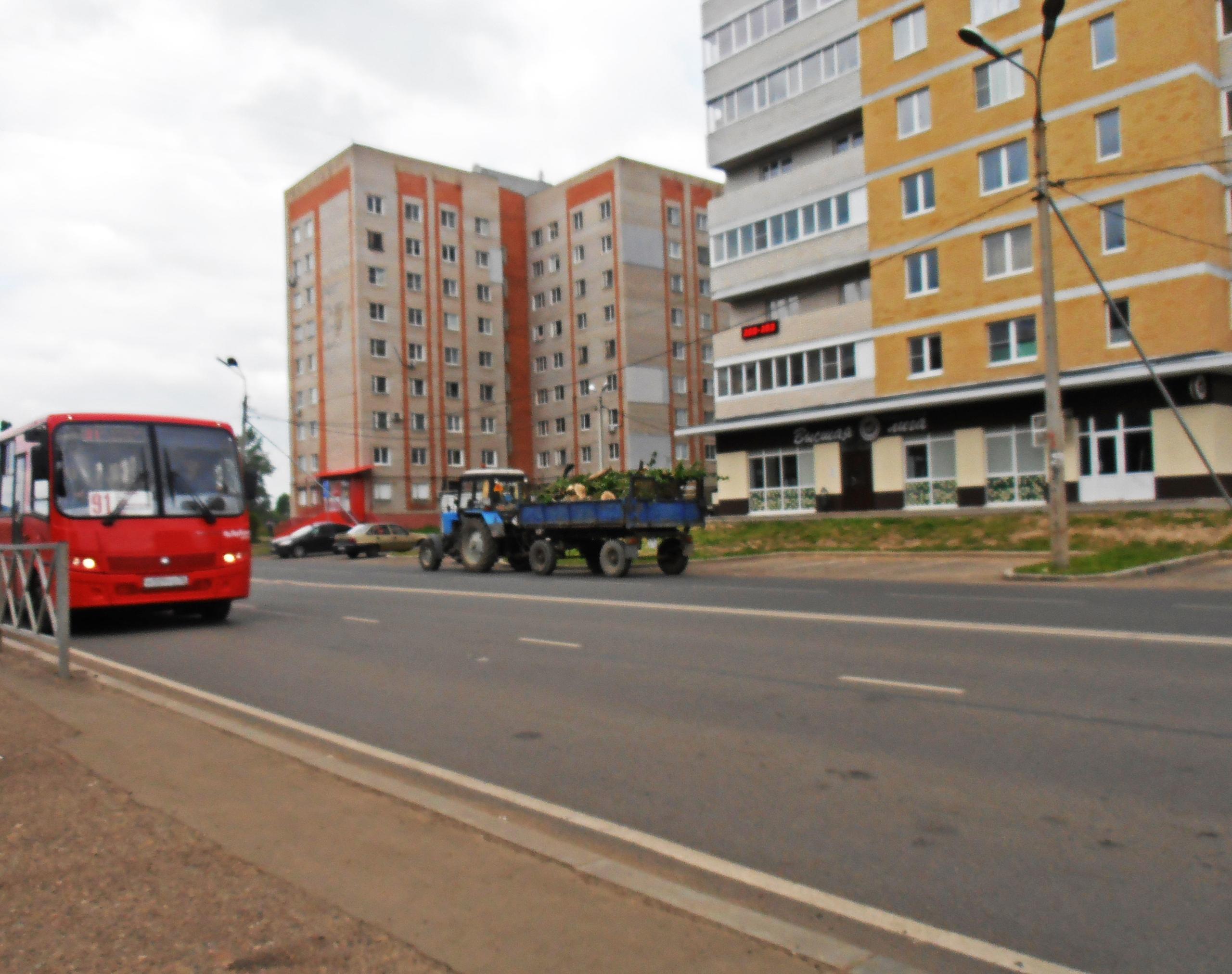 Автобус №91. Ярославль