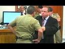 Advogado Ércio Quaresma bate boca com capitão da PM durante julgamento onoff