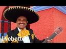 Мексиканский Ранчера традиционная инструментальная музыка с мариачи труба и гитара