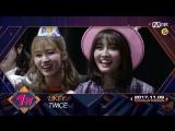 171109 Twice занимают первое место на M!Countdown и получают свою вторую награду с Likey.Полная версия.