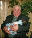 Алексей Павлович Шаповал из Новокузнецка. У него 117 внуков и 33 правнука. 13 детей…