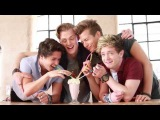 The Vamps have a milkshake and get a bit dirty on photoshoot