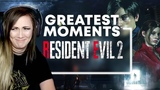 RESIDENT EVIL 2 SCARIEST FUNNIEST MOMENTS Lindsay Elyse